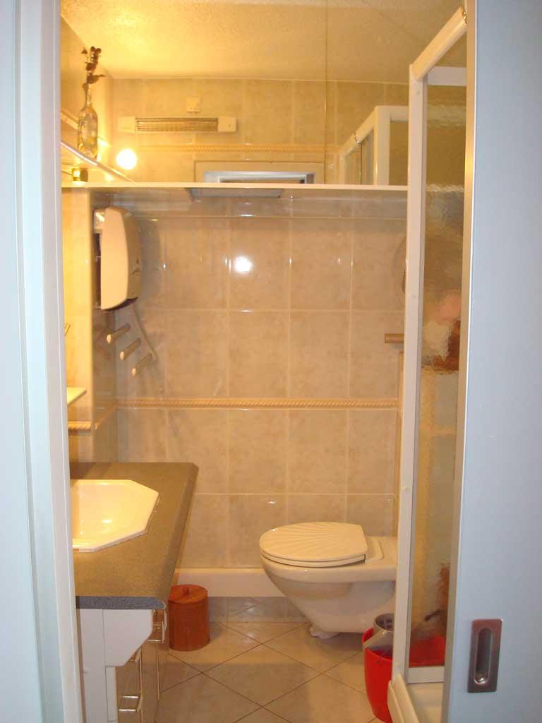 Salle de bain de l'appartement Les Marquis