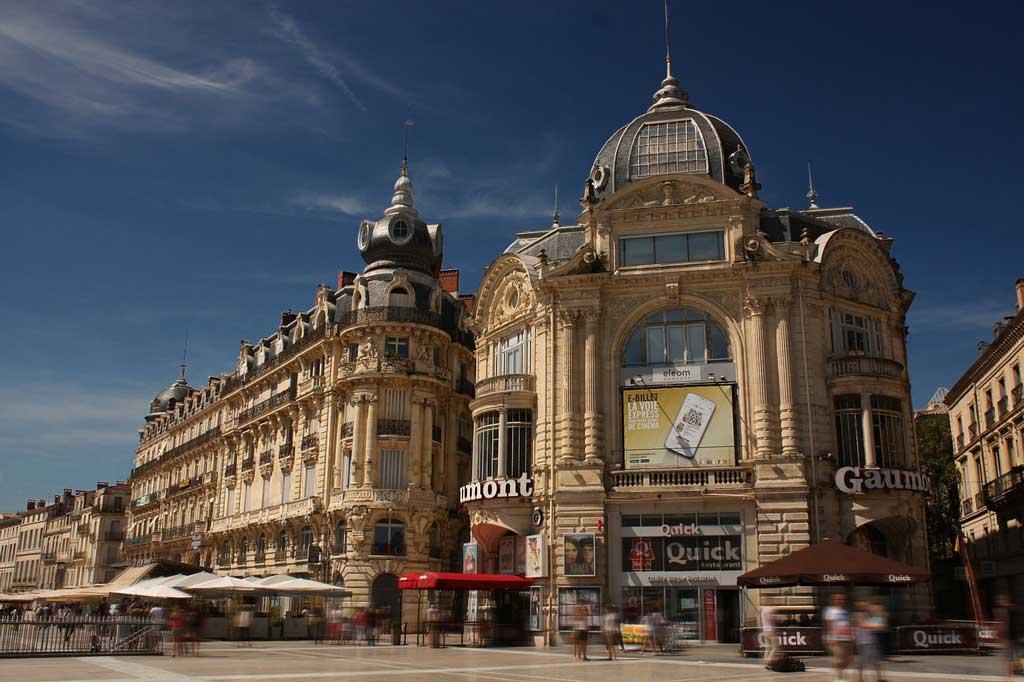 Place de la Comedie à Montpellier