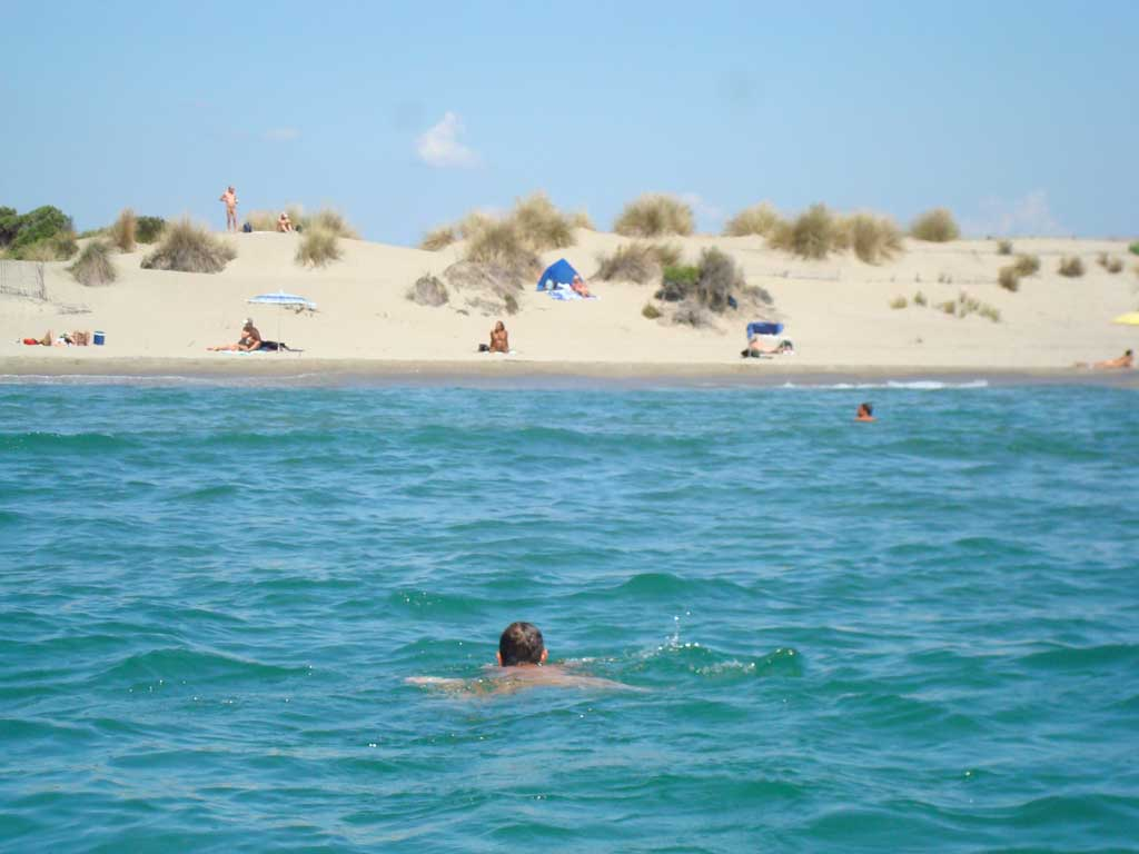 Plage de l'Espiquette à Aigues-Mortes